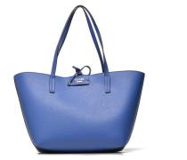 Bobbi Reversible Tote Handtaschen für Taschen in blau