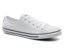 All Star Dainty Cuir Ox W Sneaker in weiß