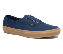 Authentic Gum Sneaker in blau