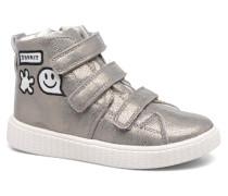 Fancy Velcro Sneaker in silber