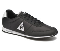 Racerone Nylon Sneaker in schwarz