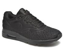 W Air Max 1 Ultra Plush Sneaker in schwarz