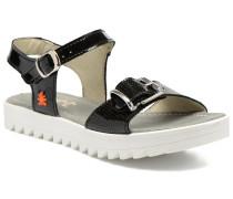 4A322 Atenas Sandalen in schwarz