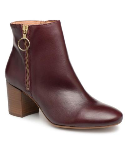 Bottines Zippees Stiefeletten & Boots in weinrot