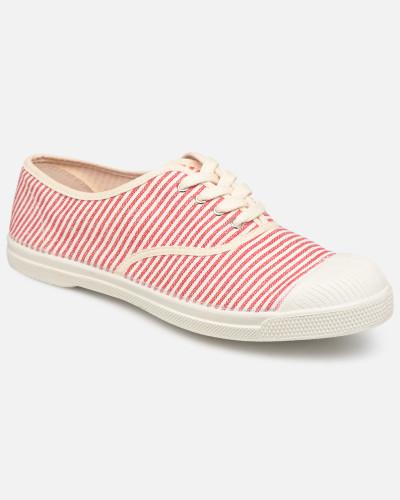 Tennis Lacet Raye Sneaker in rot