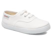 Inglesa Lona Sneaker in weiß