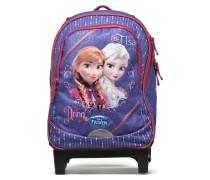 Sac à dos Trolley Reine des neiges Rucksäcke für Taschen in lila