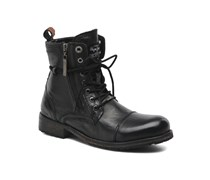 Melting Zipper Stiefeletten & Boots in schwarz