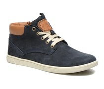 Groveton Leather Chukka Sneaker in blau