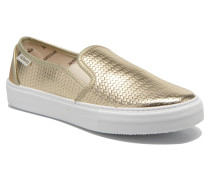 Slipon Metalizada Sneaker in goldinbronze