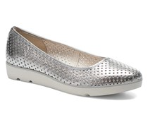 Evie Buzz Ballerinas in silber