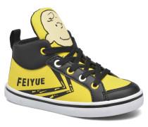 Delta Mid Peanuts Sneaker in gelb