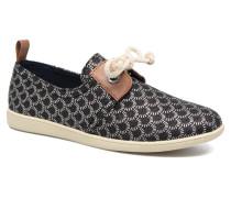 Stone One Loop Sneaker in schwarz