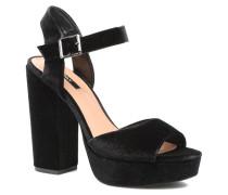 Alli heeled sandal Sandalen in schwarz