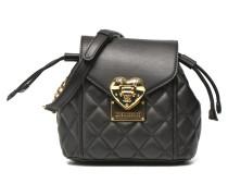 Quilted flap crossbody XS Handtaschen für Taschen in schwarz