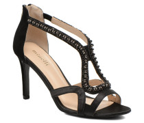 F93 635inSAT Sandalen in schwarz