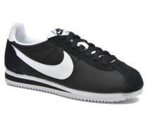 Wmns Classic Cortez Nylon Sneaker in schwarz