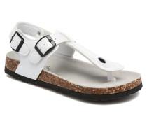 Bio Flip Flop Sandalen in weiß