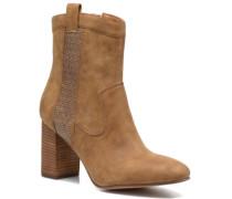 Flora Bootie Stiefeletten & Boots in braun