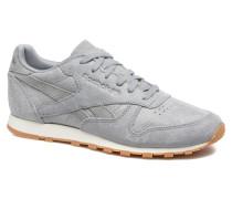 Cl Lthr Clean Exoti Sneaker in grau