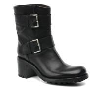 Biker 7 Mini Strap Stiefeletten & Boots in schwarz