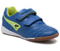 Power Court Sneaker in blau