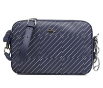 SQUARE CROSSOVER BAG Handtasche in blau