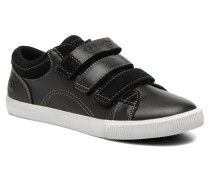 Glastenbury Hook & Loop O Sneaker in schwarz
