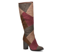 Claude Patchwork Tall Stiefel in mehrfarbig