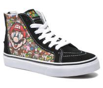 SK8Hi Zip K Sneaker in schwarz