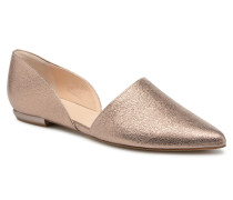 Aneta Ballerinas in goldinbronze