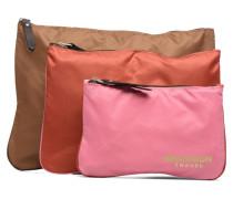 Zipped pocket set Mini Bags für Taschen in mehrfarbig