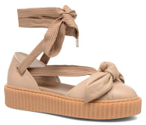 FTY BOW CREEPER SAND Sneaker in braun