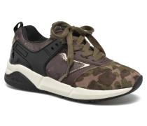 J Hideaki G.E J641XE Sneaker in grün