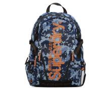 Camo mesh backpack Rucksäcke für Taschen in blau