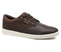 JFWGASTON PU MIX Sneaker in braun