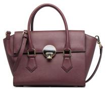 Porté main Opio Saffiano Handtaschen für Taschen in weinrot