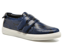 Screw Sneaker in blau