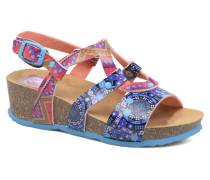 Wedge Bio Sandalen in mehrfarbig