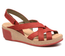 Leaves N5002 Sandalen in rot