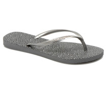 Slim Animals Zehensandalen in silber