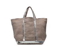 Cabas Lin paillettes M+ Handtaschen für Taschen in grau