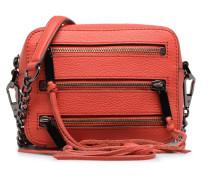 4 ZIP MOTO CAMERA BAG Handtaschen für Taschen in rot