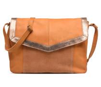 Isaura Leather Crossbody L Handtasche in braun
