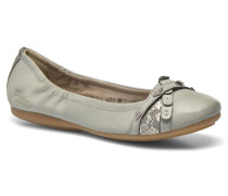 Tran Ballerinas in grau