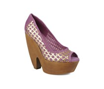Angle Pumps in lila