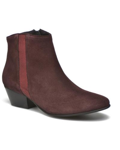 Georgia Rose Damen Celeri Stiefeletten & Boots in weinrot Unter 50 Dollar zai5muAjam