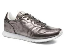 GABLE PLAIN Sneaker in silber
