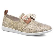 Stone One Watt Sneaker in goldinbronze