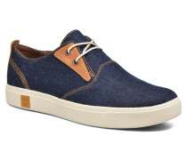 Amherst Canvas PTO Sneaker in blau